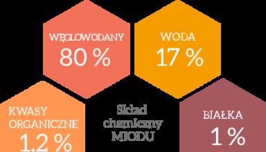 skład chemiczny miodu